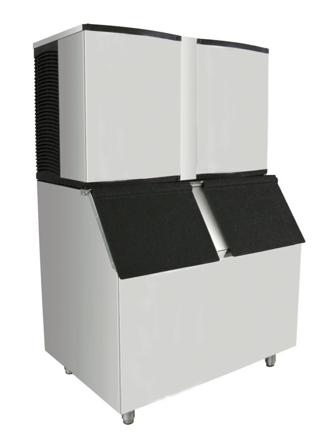 cube ice machine of 600, 740, 900 and 1000 kgs